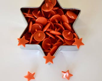 "10 snap KAM ""Star"" rust * color *."