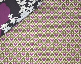 """Geometric"" - Purple VERA BRADLEY pattern cotton fabric"