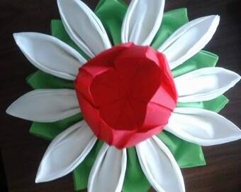 Flower Daisy napkin folding