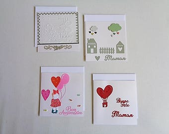 Greeting card, kids birthday, mother's day, sold individually