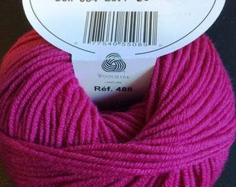 MOST of DMC colours 054 fuchsia wool