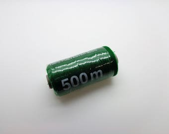 500 polyester sewing thread m dark green