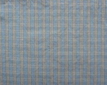 100 % natural LINEN fabric, softened, tartan, for home textile, tablecloth, clothes, bed linen