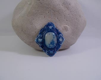 cabochon for creation of cold porcelain