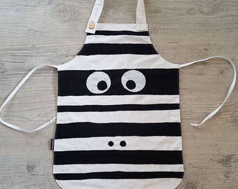 Apron child Zebra