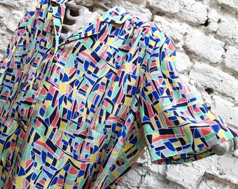 Shirt / blouse / Blouse printed 90's