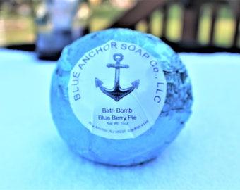 Bath Bomb Blueberry Pie