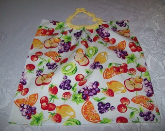 elastic towel canteen for children, theme:fruits
