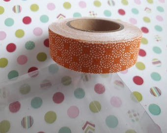 3.50 meters of scotch tape sticker cotton
