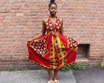Bambi maxi dress ( african dress/ankara dress / african print dress/ maxi dress/ african fashion / maxi gown / maxi)