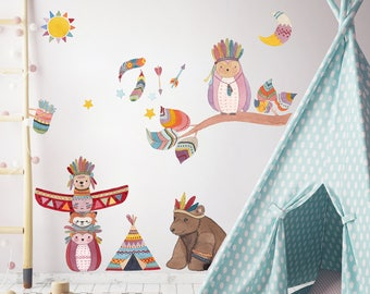 Wall decals Indians