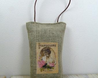 Hanging linen Lavender sachet