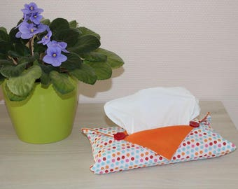 cover tissue origami - dots pattern