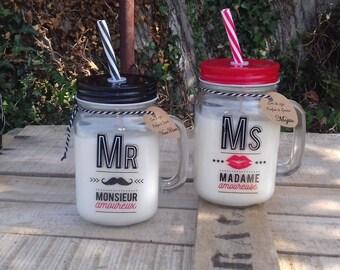 Mojito and old rum (Mason Jar) soy wax candles plant