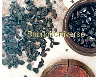 Polished natural stones of shungite 1-4 gr(the price is for 100 gr)for water and massage,detoxification stone,water purification & healing