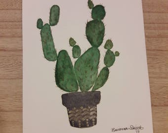 Cute Prickly Pear Painting