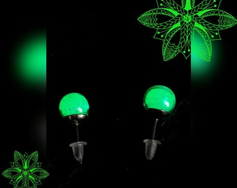 Magical glow earrings