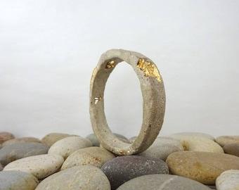 "Concrete contemporary jewelry ""Survivor... ring"" bracelet"