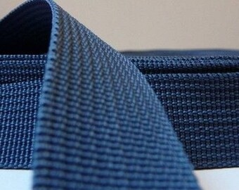 25 mm blue gray polypropylene webbing