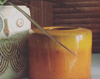 Vintage Ombre Pottery // Planter // Vase
