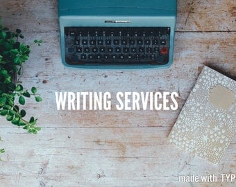 Writing Services - Articles and smaller pieces