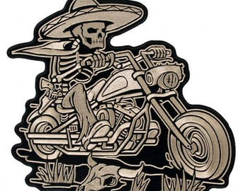 Sombrero Skeleton Patch