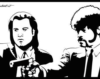 Pulp Fiction Canvas 75x50