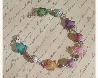 String of pearls bracelet