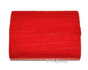 1 m red embellishment lace scrapbooking cardmaking
