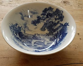 Wedgwood & Co. Ltd Blue and White Bowl