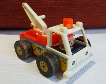 Fisher Price tow truck