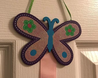 Butterfly Hairbow Holder