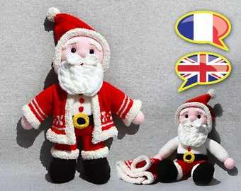 KNITTING tutorial/pattern: Santa Claus / Santa Claus