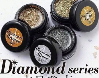 NEW! PREGEL DIAMOND series x3 colours nail gel