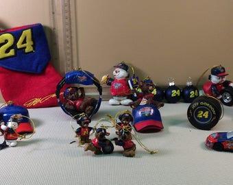 Jeff Gordon Full Set Christmas Collection