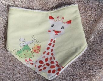 Anti-bavouille Sophie (2) baby scarf