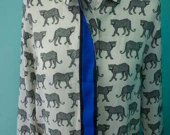 Leopard print blouse Womens UK size 10