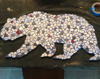 California Bear Art - Stone/wood/Tile