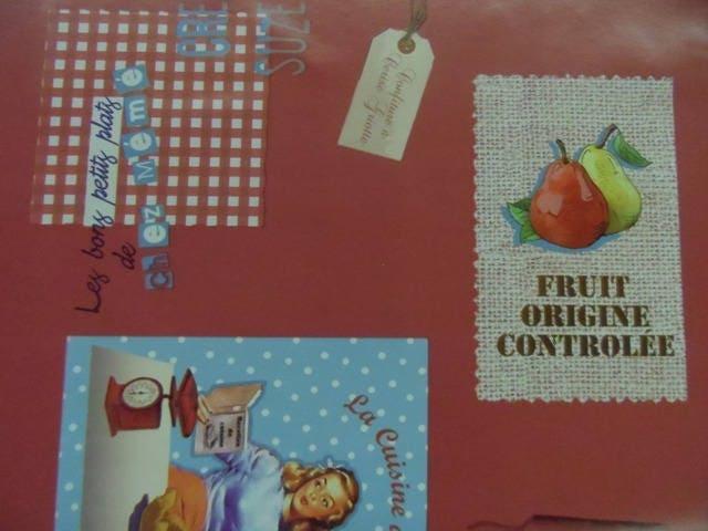 Toile cir e r tro vintage la cuisine d 39 antan for La cuisine d antan