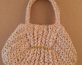 Classy Vintage Straw Bag