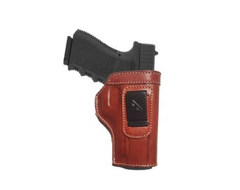 IWB Holster GLOCK Leather Right Hand GLOCK 17  19  22  23  31  32  34  35  37 38