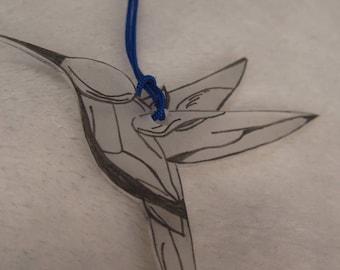"""the keychain """"Hummingbird"""" Creat'Y. O.N - original & cute-"""