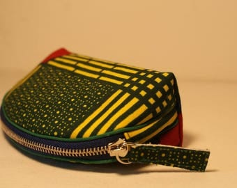 African fabric purse