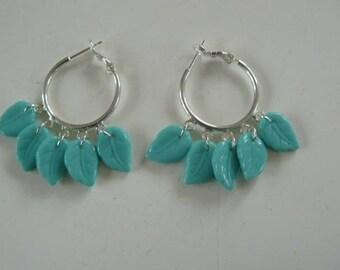 """Earrings """"leaves of spring"""""""