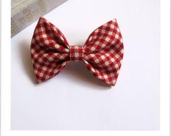 "hair bow ""clip - me"" cotton fabric"