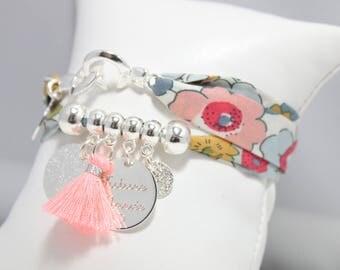 Bracelet personalized ENJOY Liberty with etching * unique *.