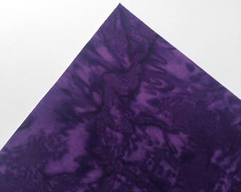 Plum Watercolor - Custom Print Fabric Felt - 8x11 Sheet - Fabric Felt