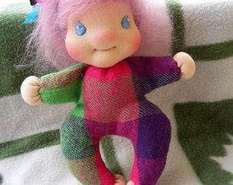 waldorf type doll, Camille