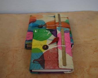 Handmade Multi-color Lokta Journal Notebook Made In Nepal