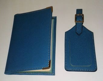 Passport with door luggage tag set.